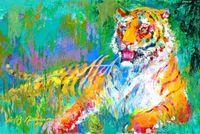 Leroy_Neiman_Animals_LNA048_Resting_Tiger