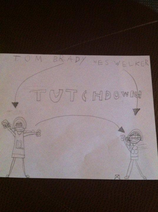 Tutchdown!!
